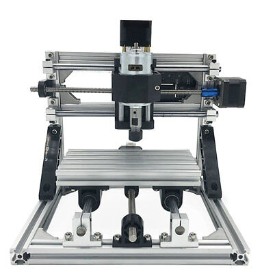 3 Axis Diy Cnc Router Kit Wood Carving Engraver Pcb Milling Machine5000mw Laser