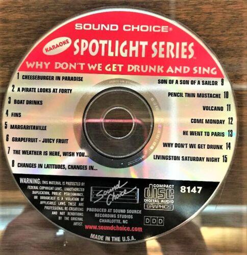 SOUND CHOICE KARAOKE SPOTLIGHT CD+G - 8147 - JIMMY BUFFET - CDG
