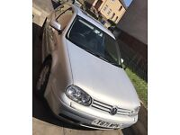 ***Cheap Silver Volkswagen Golf For Sale***