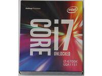 Brand new and sealed Intel i7-6700K Skylake Quad Core 4.0GHz LGA1151 Processor - LAST ONE