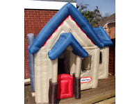 Rare inflatable victorian playhouse little tikes FREE DELIVERY