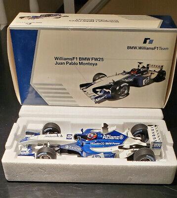 2003 BMW Collection Williams F1 BMW FW25 Juan Pablo Montoya - 1:18 Diecast