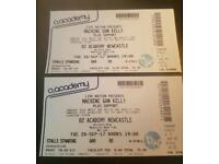 2x Machine Gun Kelly adult tickets (Newcastle)