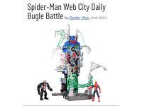 Spider man web city
