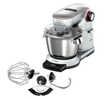 Bosch Optimum MUM9AX5S00 Küchenmaschine mit integrierter Waage platinum silber