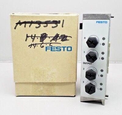 New Festo Viga-03-fb-4-5pol Output Module