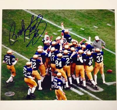 RUDY RUETTIGER Autograph NOTRE DAME Signed 8x10 Photo ~ OC COA   Holo +Pic  Proof 9ef8b2391