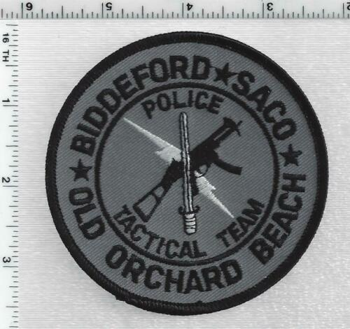 Old Orchard Beach Police Tactical (Maine) 1st Issue Subdued Shoulder Patch