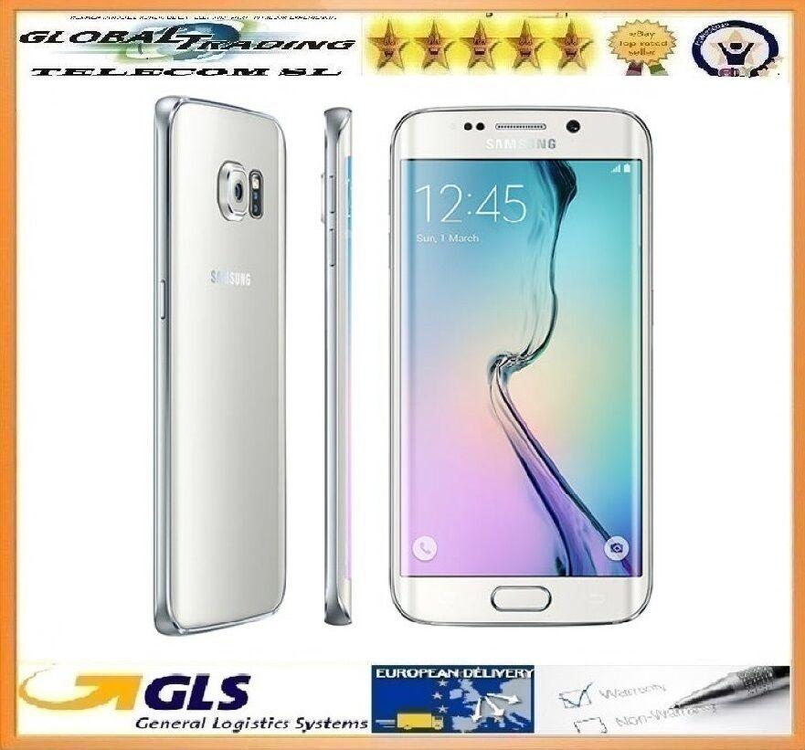 Phone Samsung Galaxy S6 Edge Sm G925f 32gb White Degree To 100 Functional Ebay