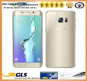 SAMSUNG-GALAXY-S6-EDGE-PLUS-SM-G928F-32GB-ORO-GOLD-PERFECTO-ESTADO-GRADO-A