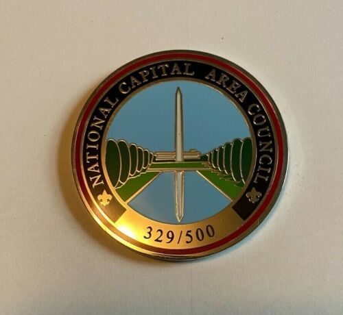 National Capital Area Council Challenge Coin NCAC #329 Of 500