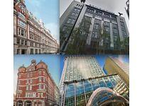 Flexible Office Space around Liverpool Street, City of London : £75 per week