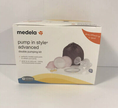 MEDELA Pump In Style Advanced Double Pumping Kit #87250 Brand NEW IN PACKAGE