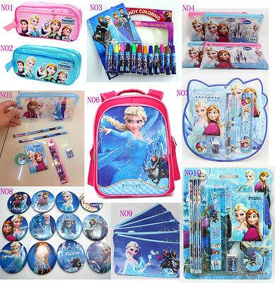 New Kids Girls School Bag+Pencil Case+Color Pen+Stationery ...