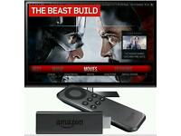 Fully loaded Amazon Fire Tv Stick with Kodi Beast and Mobdro