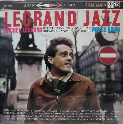 MICHEL LEGRAND  LEGRAND JAZZ  COLUMBIA  CS8079 - IMPEX IMP6028 US PRESSING