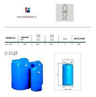 Serbatoio Verticale Cisterna Cilindrico Elbi Cv 300 Litri Acqua Potabile -  - ebay.it