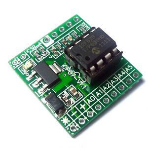 iCP07-iBoard-Tiny-Microchip-8pin-PIC12F675-IO-Board
