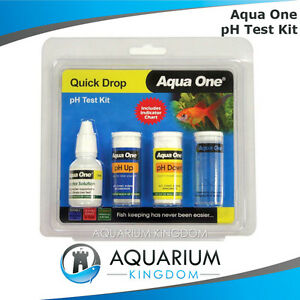 Aqua one ph adjuster test kit decrease increase ph levels for How to raise ph in fish tank