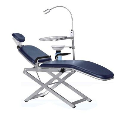 Tpc Portable Dental Chair Unit With Cuspidor Pc2720 Led Light Carry Bag