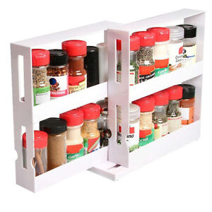 SWIVEL STORE Space Saving Spice Rack Organizer | As Seen on TV | New