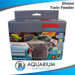 Eheim twin fish feeder aquarium automatic auto food for Eheim fish feeder