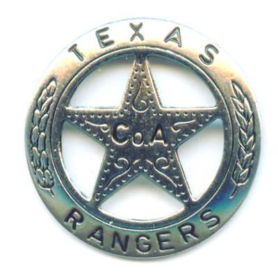 Anstecker TEXAS RANGER Western Cowboy Südstaaten Rebel x