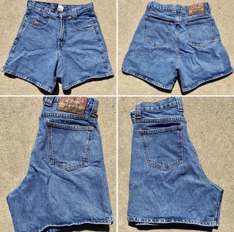 "Vintage Bongo Jeans Denim Shorts 11 (28 1/2"" Waist)"