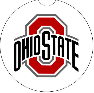 OHIO STATE CAR ABSORBENT COASTER - Car Cup Holder Coaster Car Cup Holder Coaster