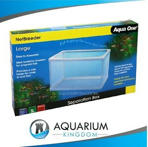 Aqua One Net Breeder 5L Large - Aquarium Fish Separation Box/Tank Baby Fry Sick