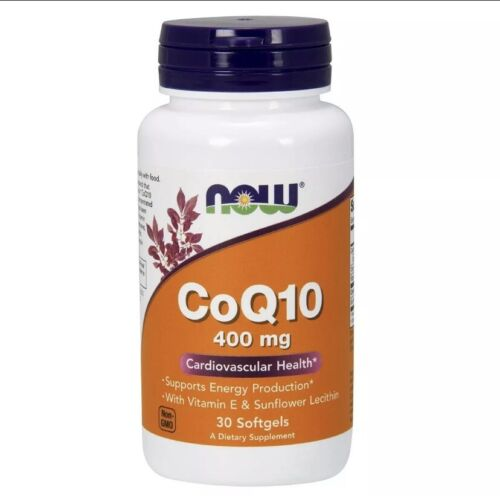 CoQ10 400 mg 30 Sgels by Now Foods