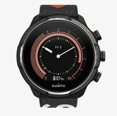 Suunto 9 Baro Titanium Ambassador Edition Watch With 2 Straps - SS050438000