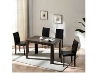 Dinning table & 4 chairs brand new boxed
