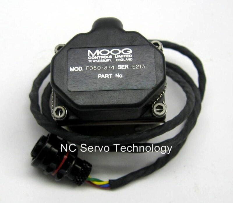 Moog E050-374 Servo Valve 1 Yr Warranty New