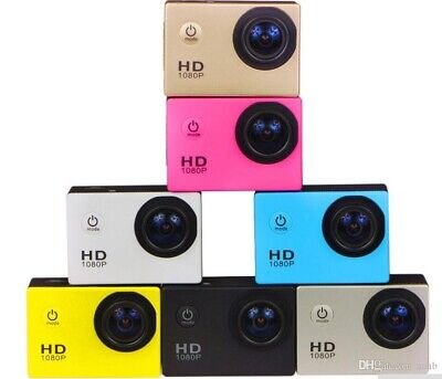 "Mini Action Sport Pro Camera cam A9 With 2"" LCD Screen 1080p HDMI HD Go"