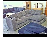 BRAND NEW DYLAN JUMBO CORNER/3+2 SOFA AVAILABLE IN DIFFERENT COLORS IN STOCK