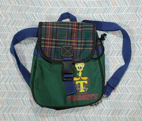 1998 WB Looney Tunes Tweety Varsity Bag