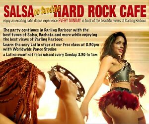 Salsa Party + Free Dance Class in Darling Harbour Sydney City Inner Sydney Preview