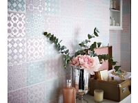 WANTED tiles (preferably mixed pastel colours)