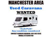 Caravans Wanted!