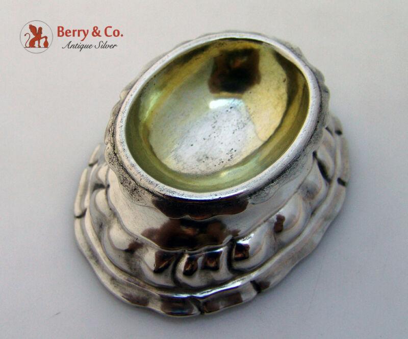 Trencher Salt Augsburg 1750 Maker RL 800 Standard Silver