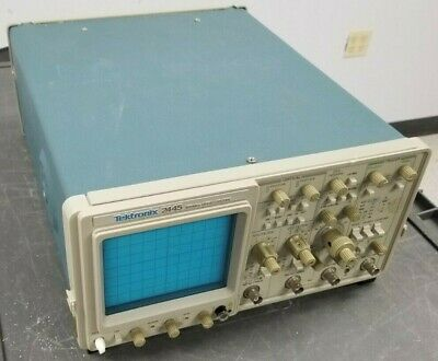 Tektronix 2445 150mhz4 Channel Oscilloscope Appears Functional