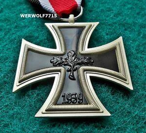 GERMAN IRON CROSS MEDAL 1939 WW2 2ND CLASS REPRO Eisernes Kreuz ARMY BADGE