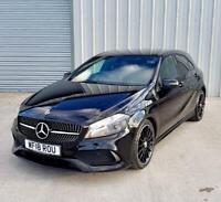 Mercedes-Benz A200 1.6 ( 156ps ) ( s/s ) 7G-DCT 2018.5MY AMG Line 2018/18.