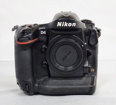 # Nikon D4 16.2MP Digital SLR FX Full Frame Camera Body (60360 cut) s/n 5059