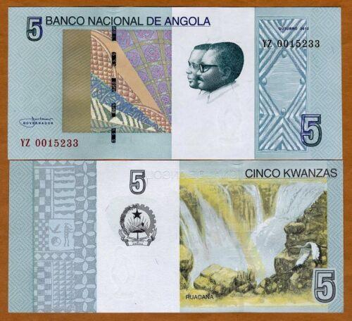 Angola, 5 Kwanzas, 2012 (2017), P-New, UNC > YZ, REPLACEMENT