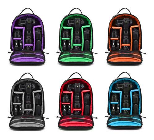 -   84 - Waterproof Shockproof Bag Backpack  for Canon EOS Sony Nikon DSLR Digital Camera