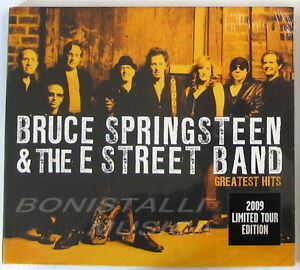 BRUCE-SPRINGSTEEN-amp-THE-E-STREET-BAND-GREATEST-HITS-CD-Limited-Ed-Sigillato
