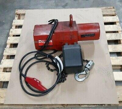 Dayton 3yb84 12 Ton One Phase Electric Chain Hoist Lot B