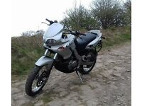 Cagiva Canyon 500 Adventure Trailie with Hard Luggage, A2 licence friendly